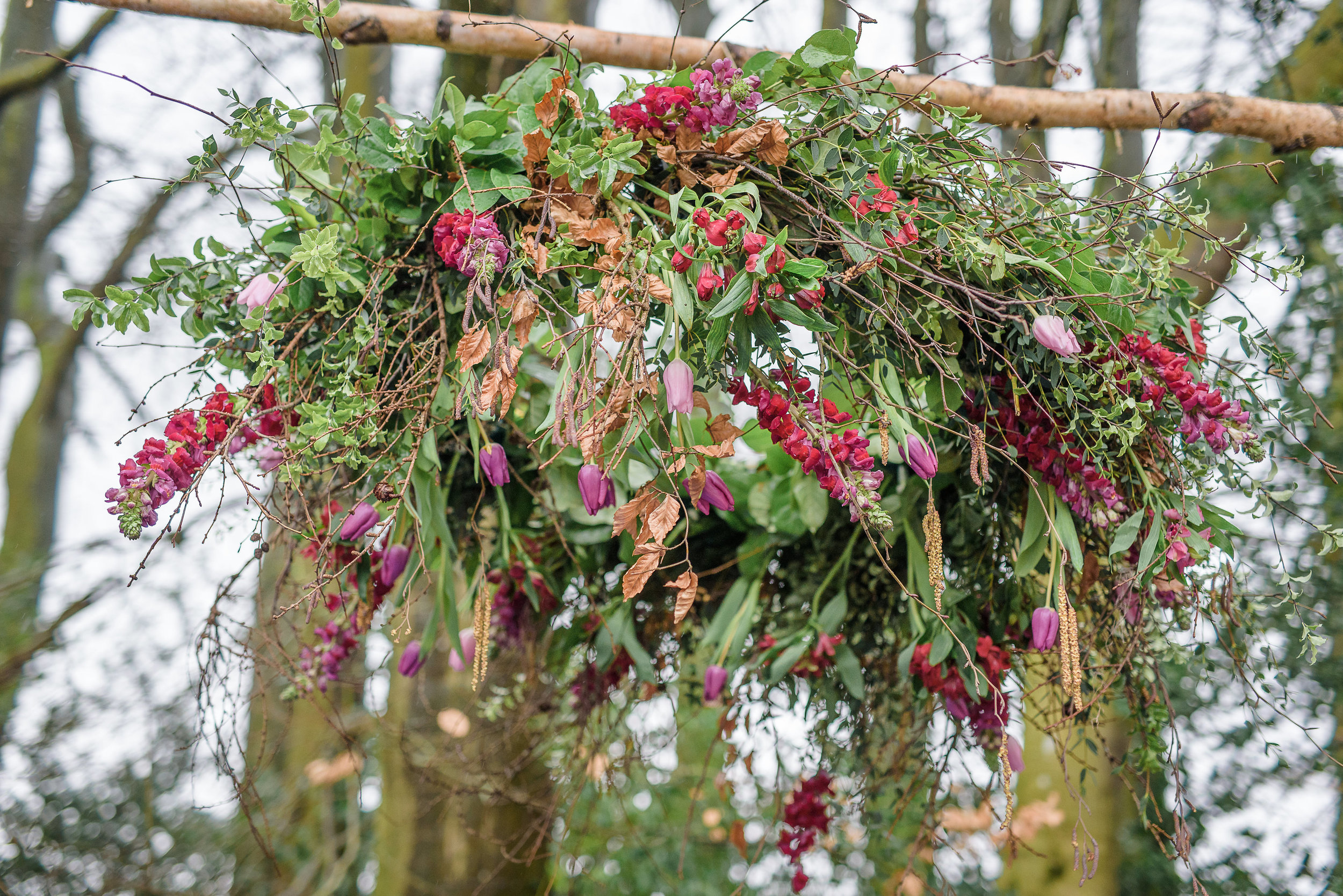 Essex Boho Wedding Florist