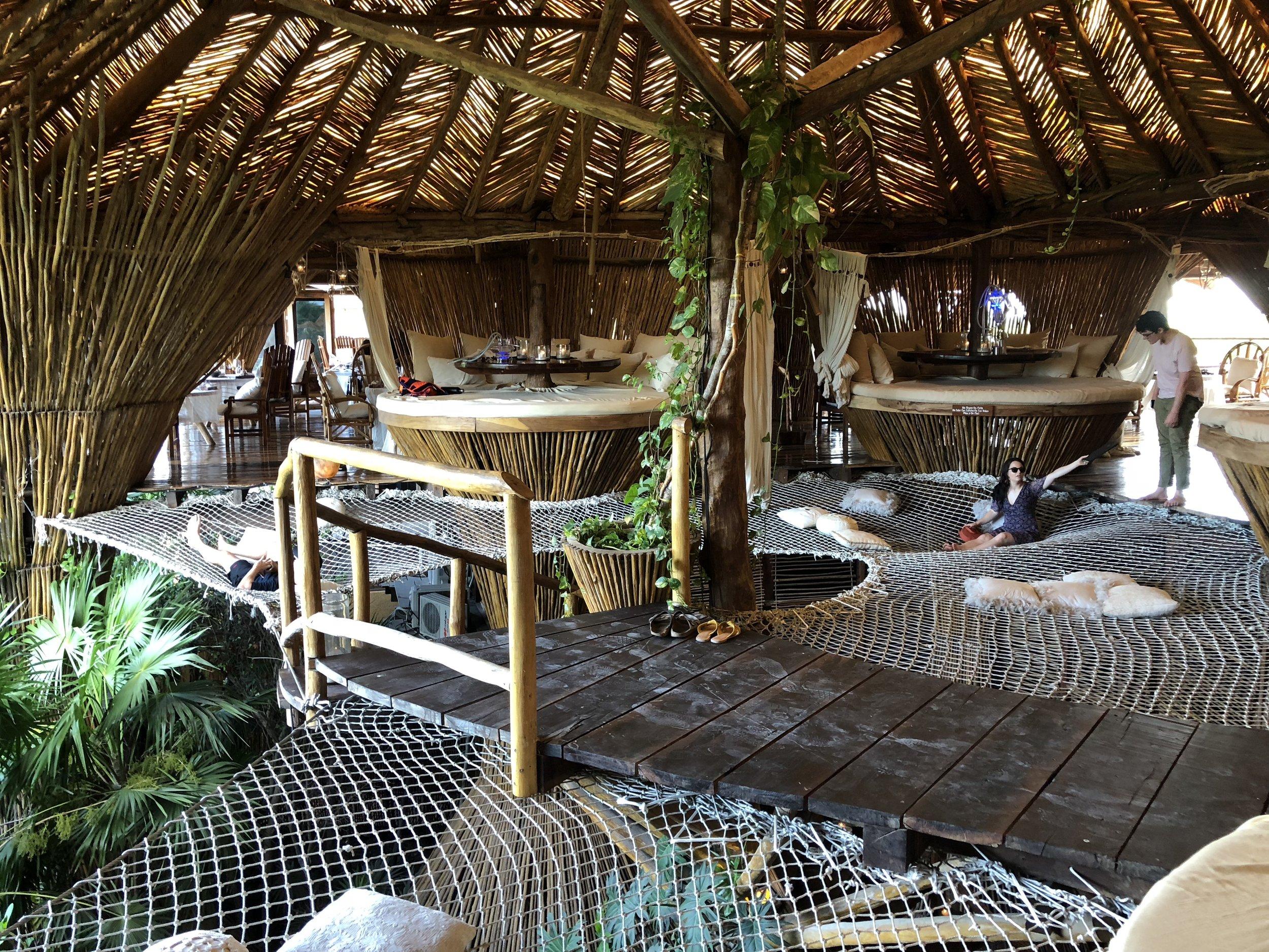 Kin Toh restaurent in Tulum