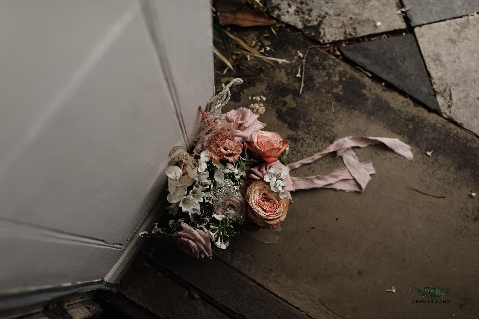 Blush and soft ruse wedding flower palette.