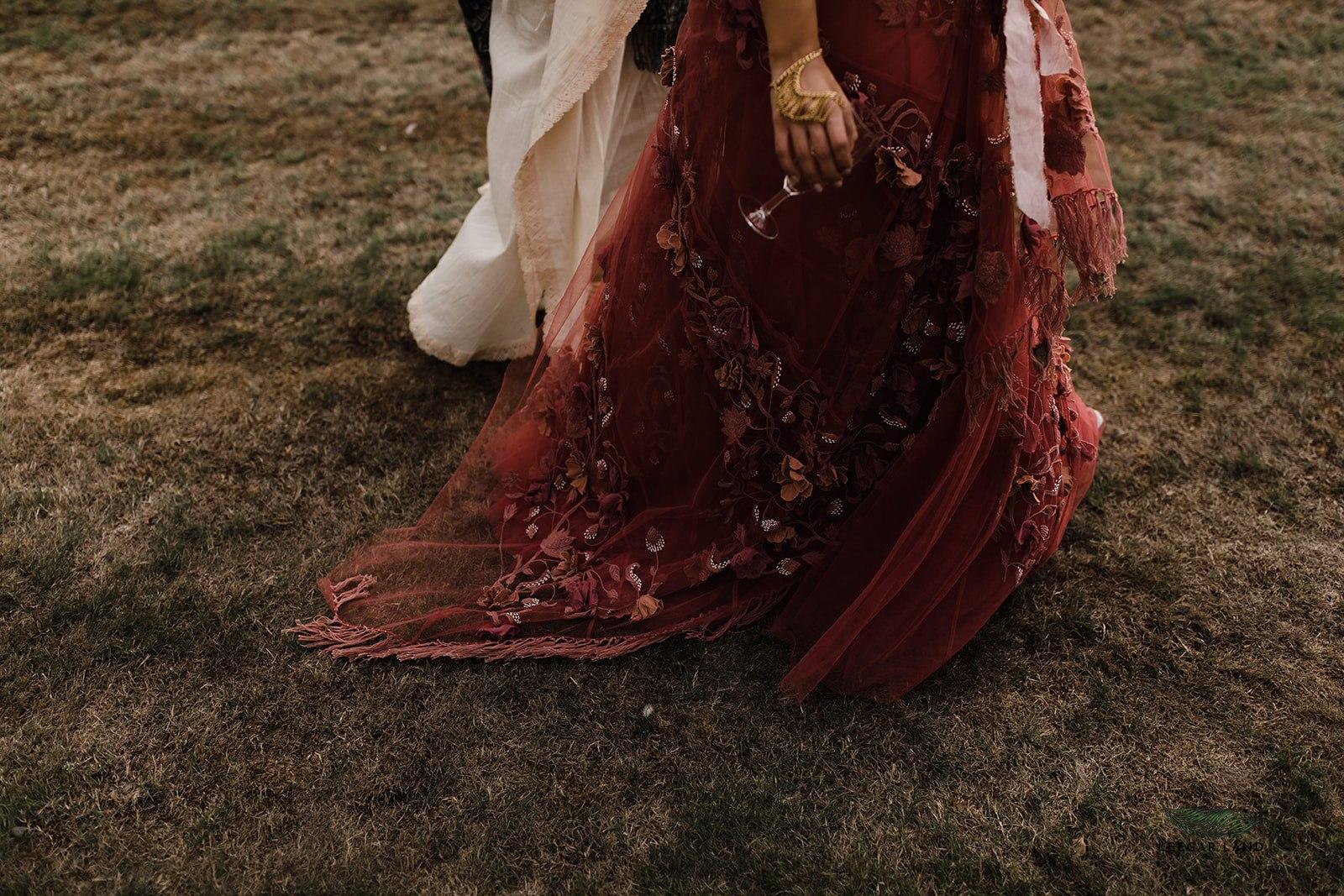 Indian English wedding inspiration, Kent, England