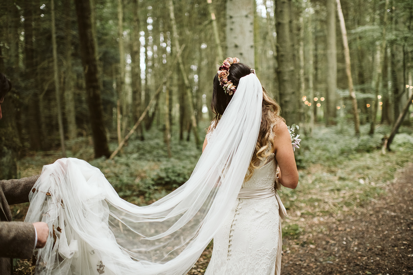 A woodland wedding in the heart of Kent.