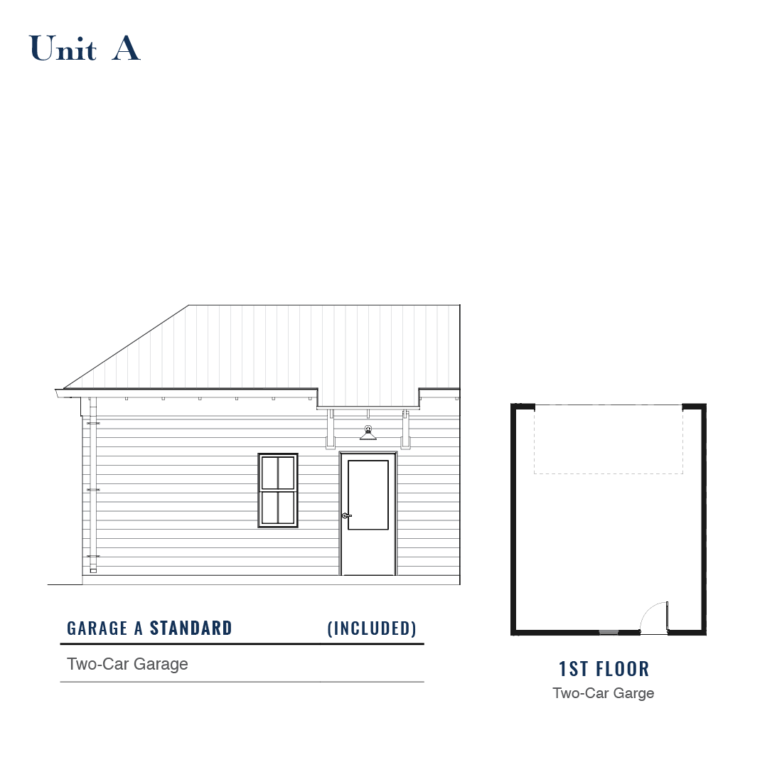 Unit A Standard Garage | East Wilbur LiveWorks, Downtown Lake Mary