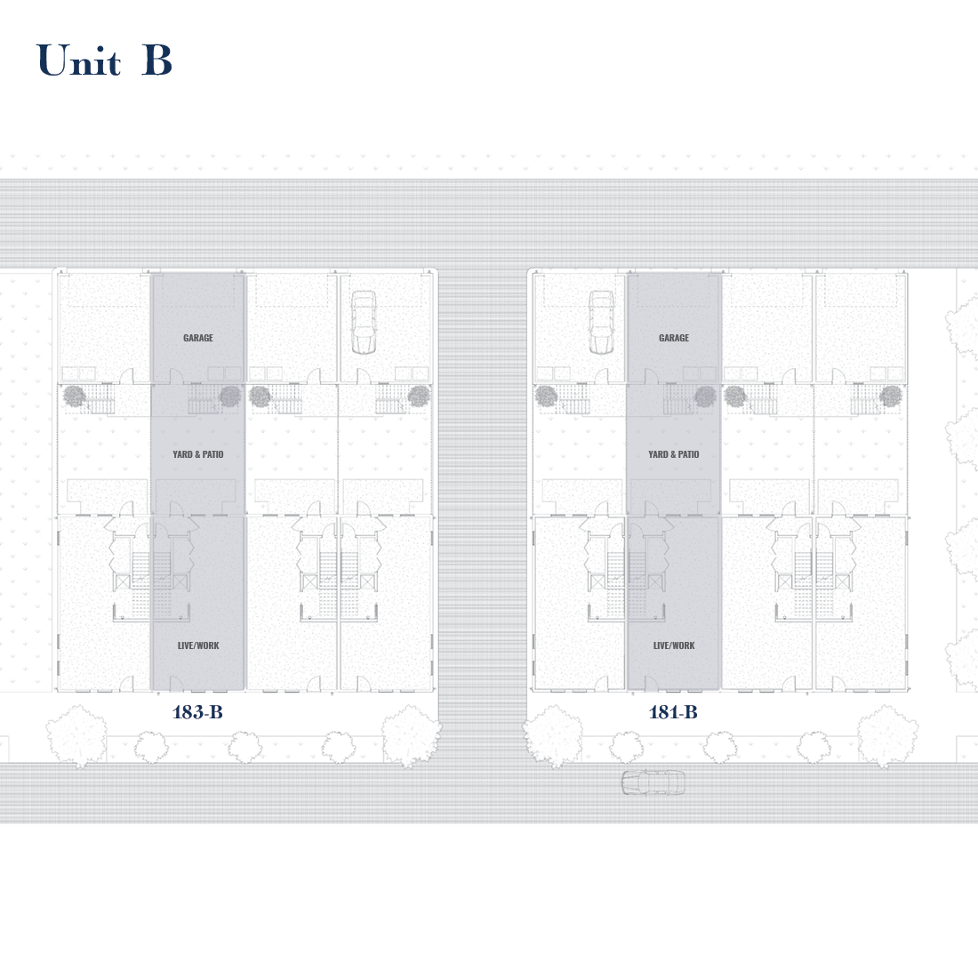 Unit B Site Plan | East Wilbur LiveWorks, Downtown Lake Mary