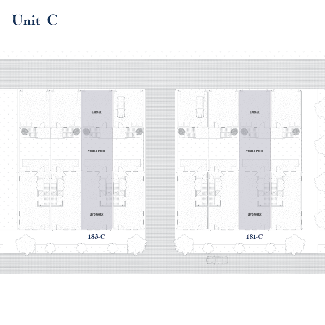 Unit C Site Plan   East Wilbur LiveWorks, Downtown Lake Mary