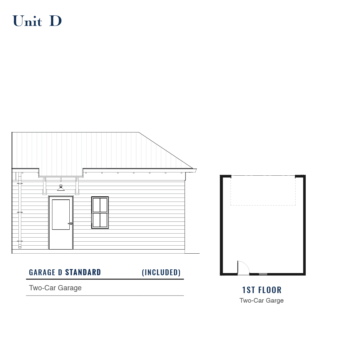 Unit D Standard Garage | East Wilbur LiveWorks, Downtown Lake Mary
