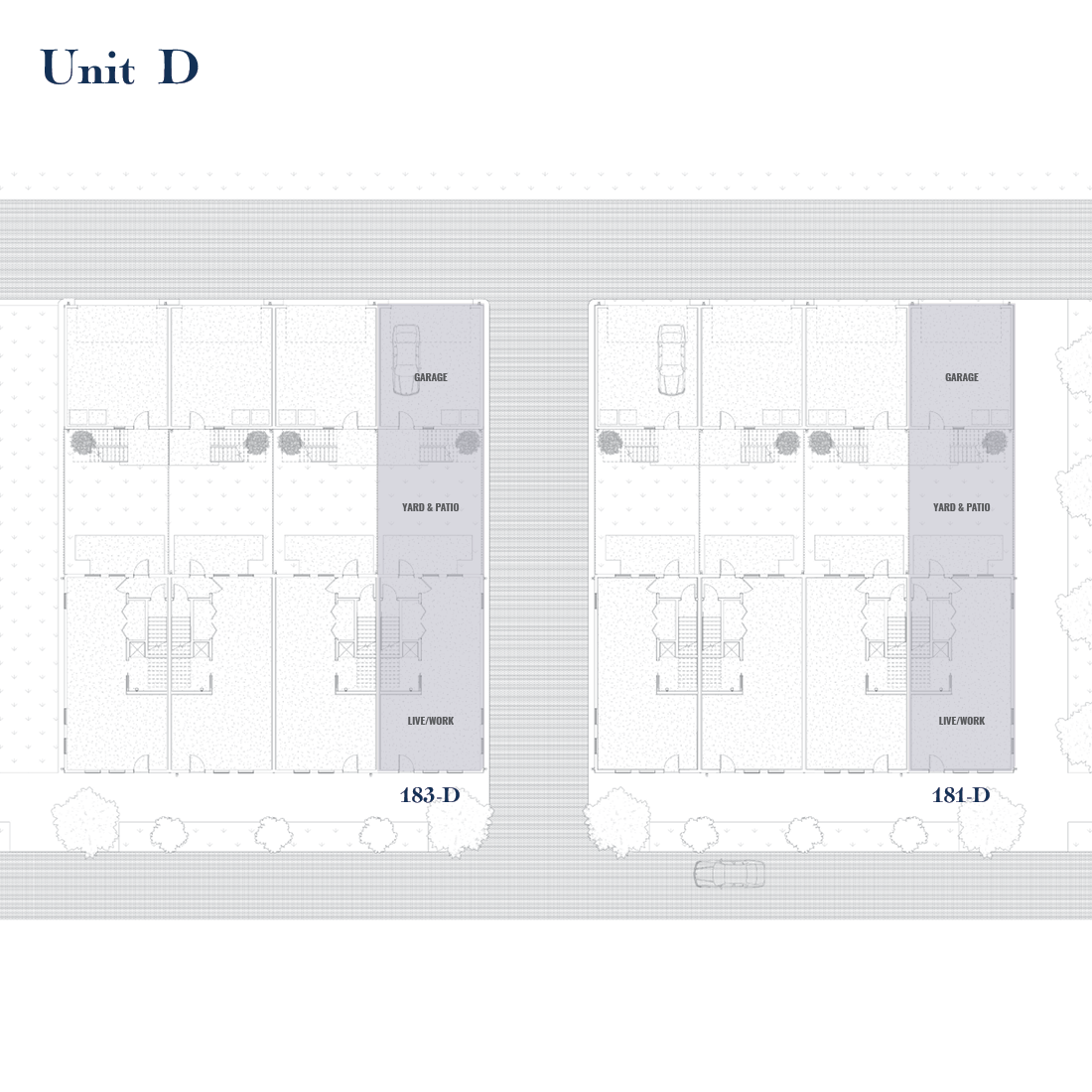 Unit D Site Plan | East Wilbur LiveWorks, Downtown Lake Mary