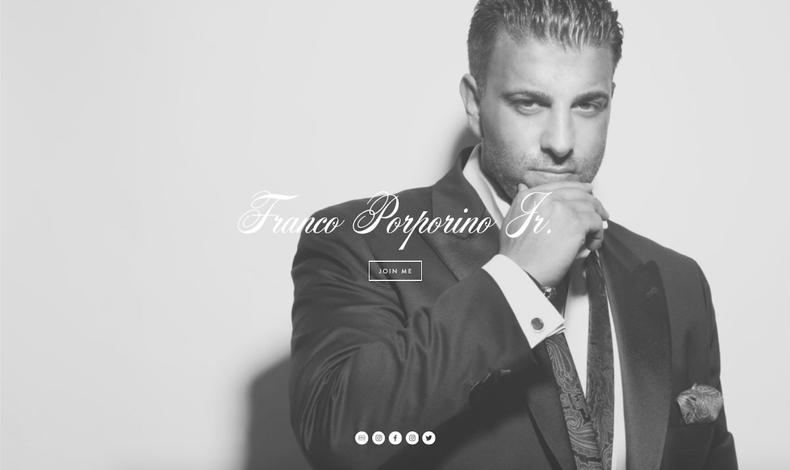 Showcasing a lifetime of dedication. - This site serves as a blog as well as a showcase piece of an entrepreneur's hard work and dedication. The site features an article-style biography page that serves as an in-depth online resume. This website is elegant, minimalist, and sleek and features black and white photography, elegant type face, and embedded videos and SoundCloud player.