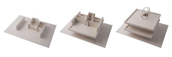 2 storey 1:50 model