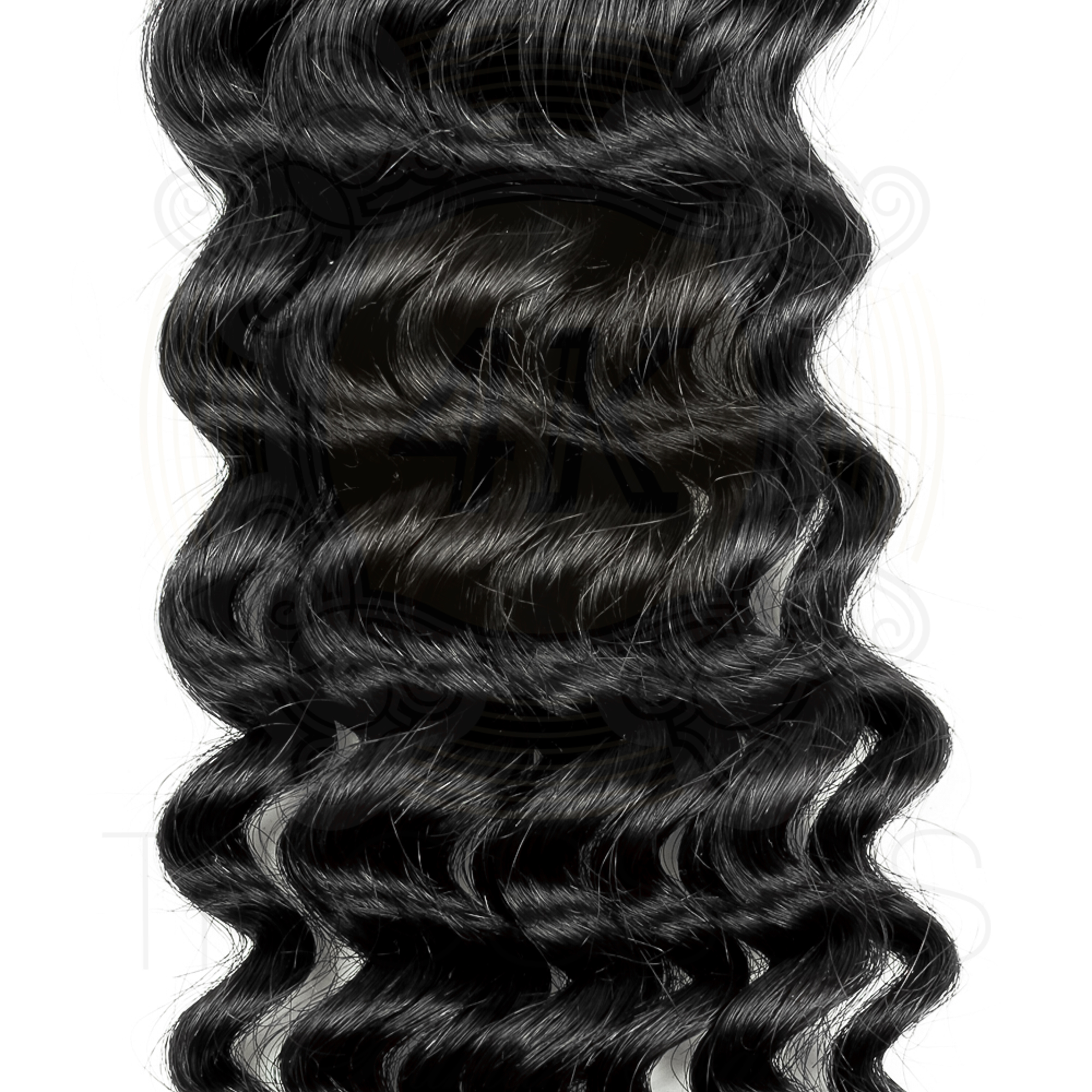 4K Tresses Branded Premium Full Unit 100% Indian Human Hair Lace Front or Full Lace - Deep Wave