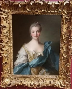 Madame de La Porte, painted in 1754 by Jean-Marc Nattier