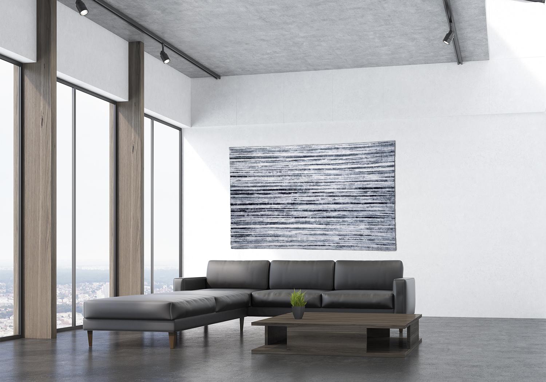 Claire Benn's art textiles in a home setting.jpg