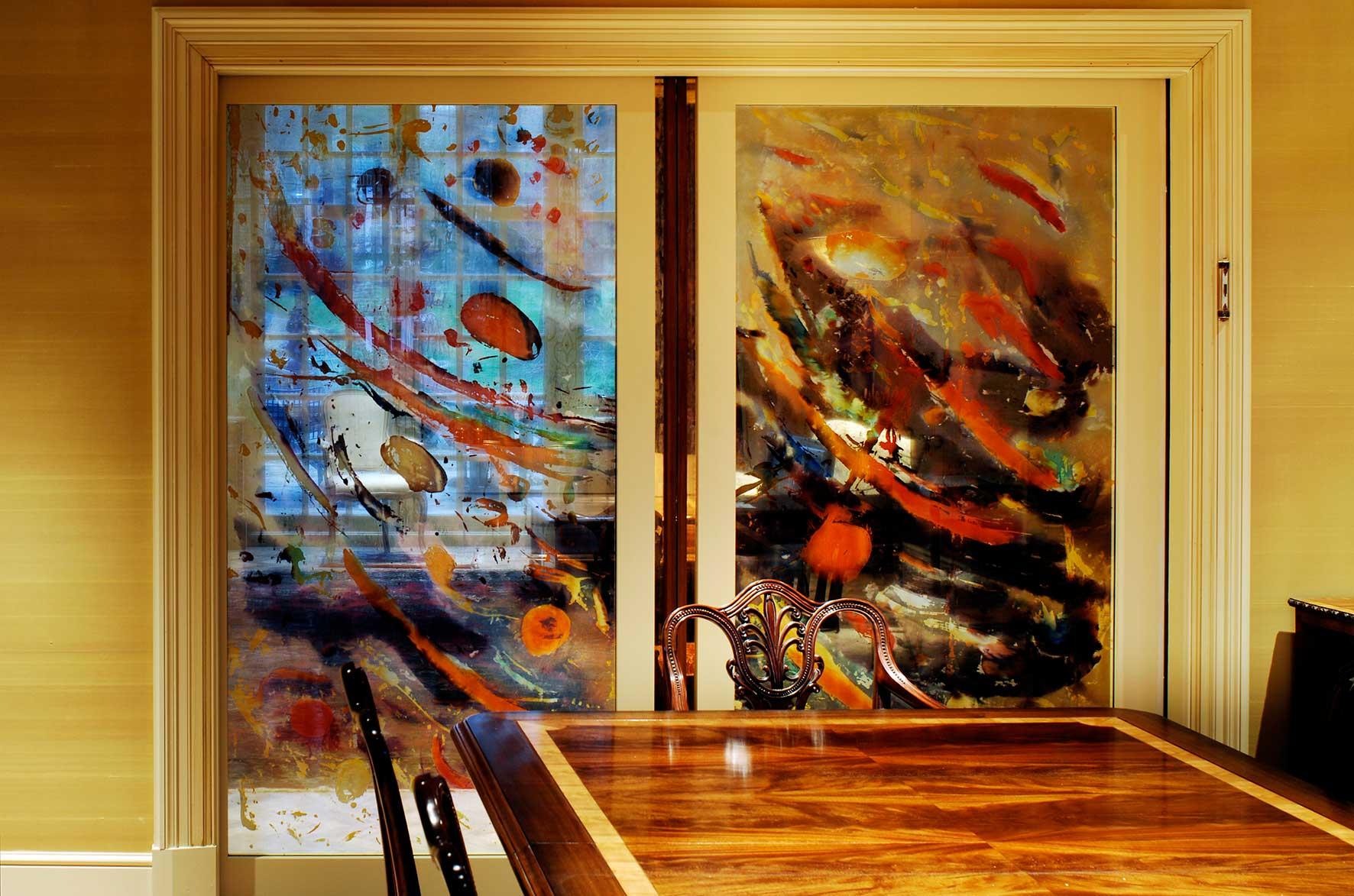 Carole Waller, interior sliding doors