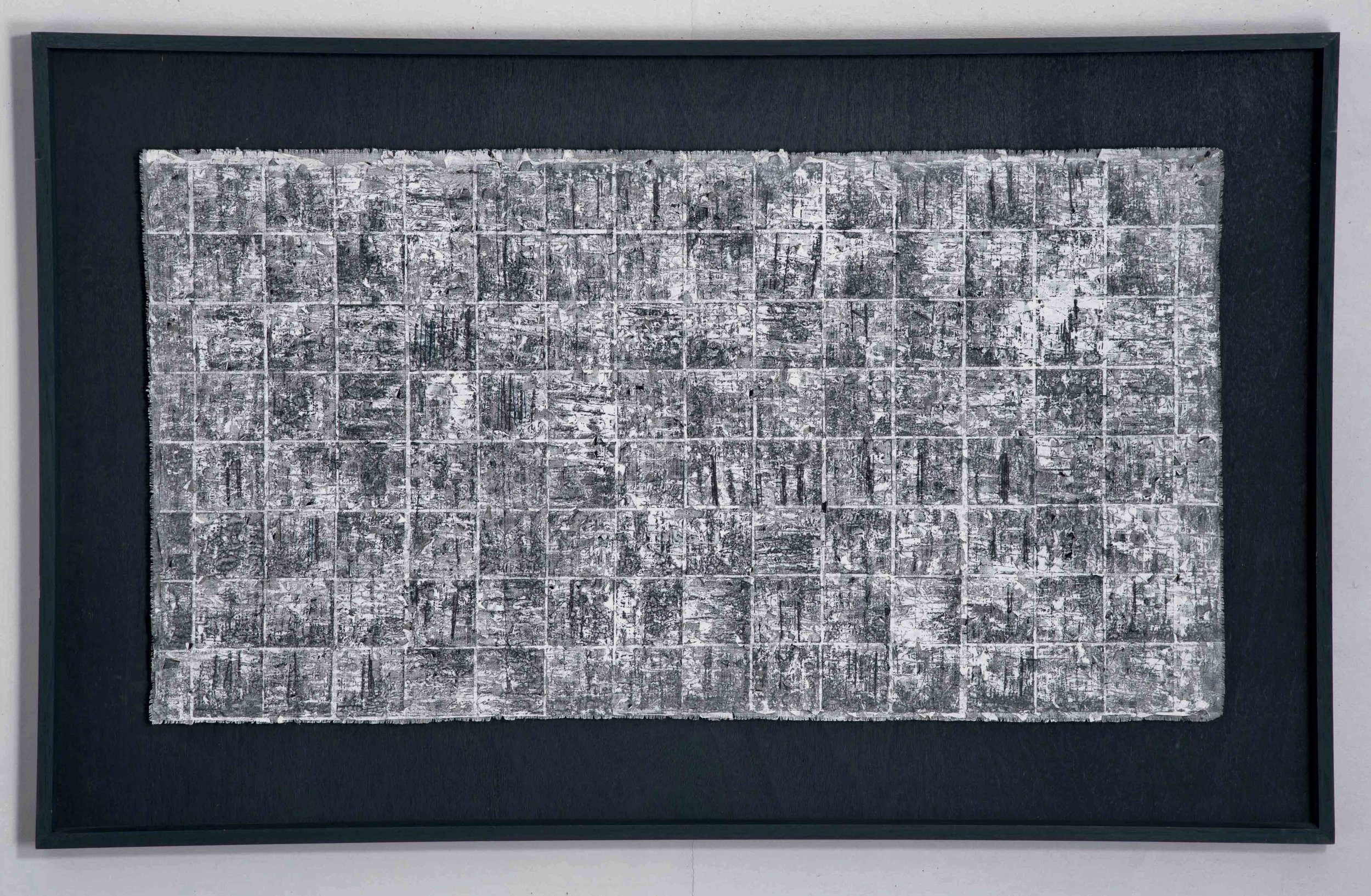 'Barren Arctic'. Framed size 95cm x 50cm