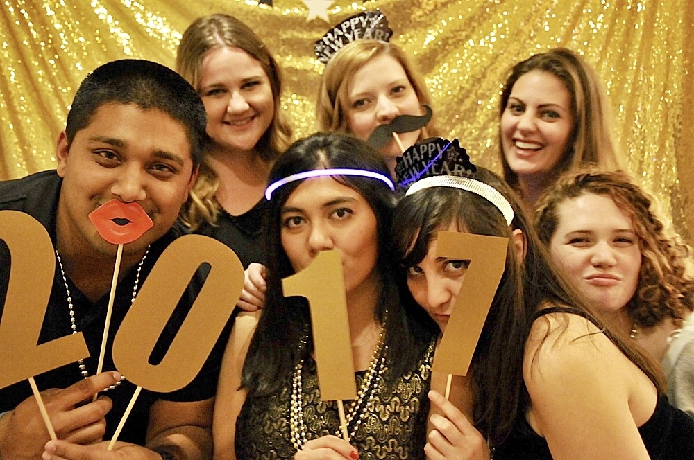 Our 2017 New Year's Eve party