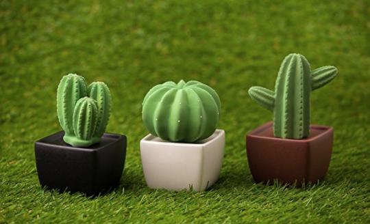 Cactus ceramic diffusers; courtesy Amazon.com