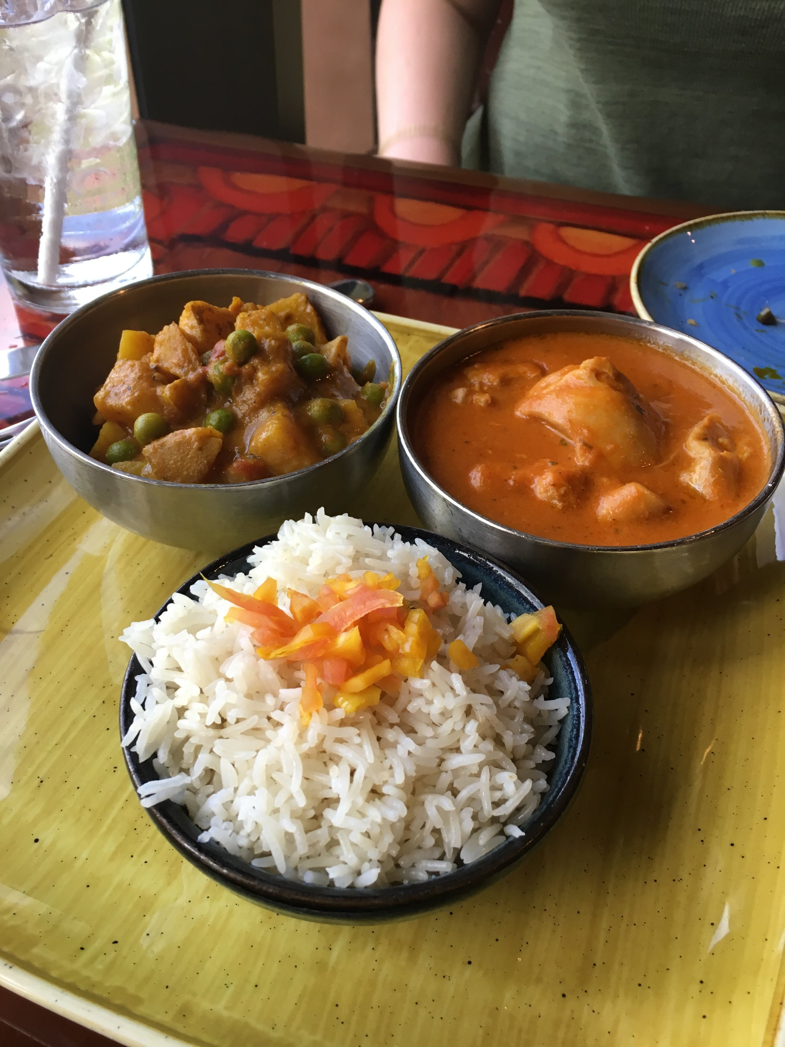 African-Indian food at  Sanaa in Disney's Animal Kingdom Resort