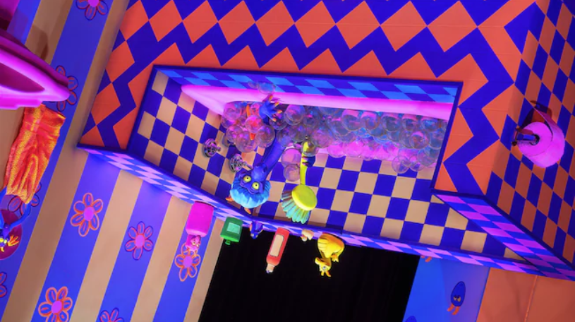 Go watch Figment take a bath in Journey Through Imagination with Figment