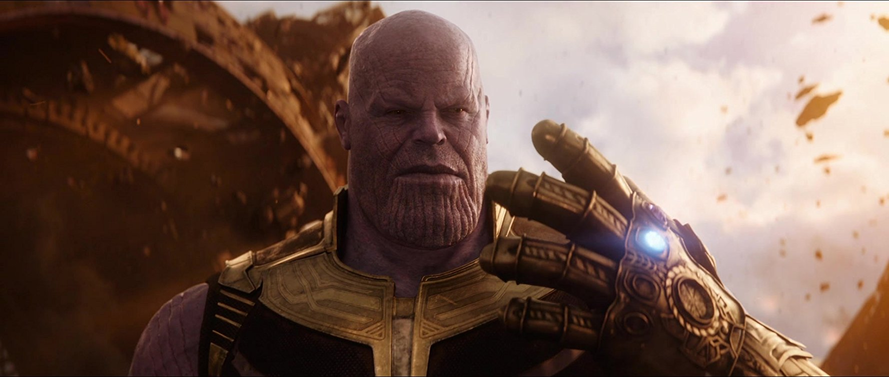 Thanos in  Avengers: Infinity War. Image  via  .