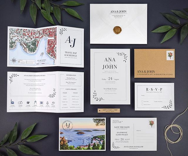 The goal for our wedding invitations was to be more than just a invitation. We wanted them to be a valuable resource for our guests. Included is a fold-out insert with a wedding day timeline and custom map with all of the wedding locations included.  _____________________ #wedding #weddingideas #weddinginspo, #weddingseason #weddingdesign #weddingidea #artofvisuals, #huffpostido, #destinationwedding #weddingmap #invitations #destinationwedding #illustration #map #custom #weddingideas #weddinginspiration #flatlay #weddinginvitations #stationary #weddinginvites #weddingivite #weddinginvitation #weddingdesign #invitationdesign #invitationwedding