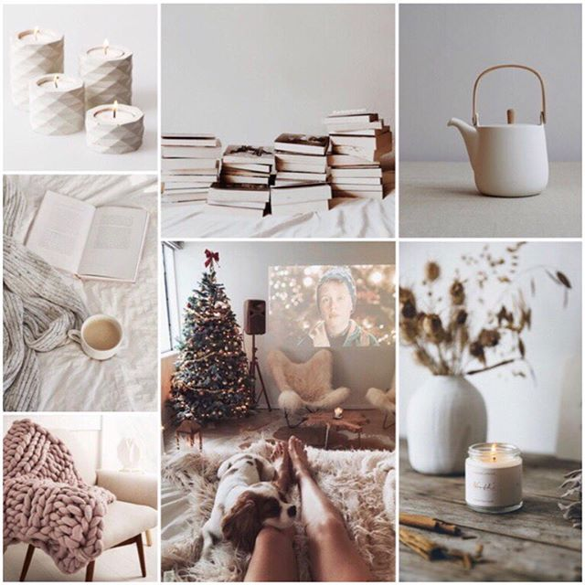We missed #moodboardmonday yesterday, but on a cold day like this we had to share our hygge mood board! So here's to #moodboardtuesday 🧡
