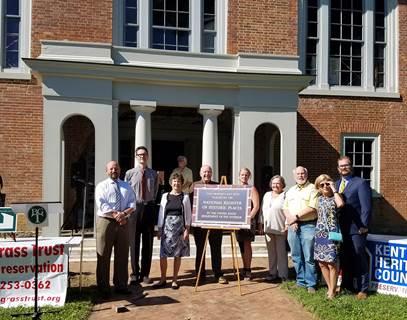 Public Event Celebrates Lexington's Pope Villa Listing on the National Register of Historic Places