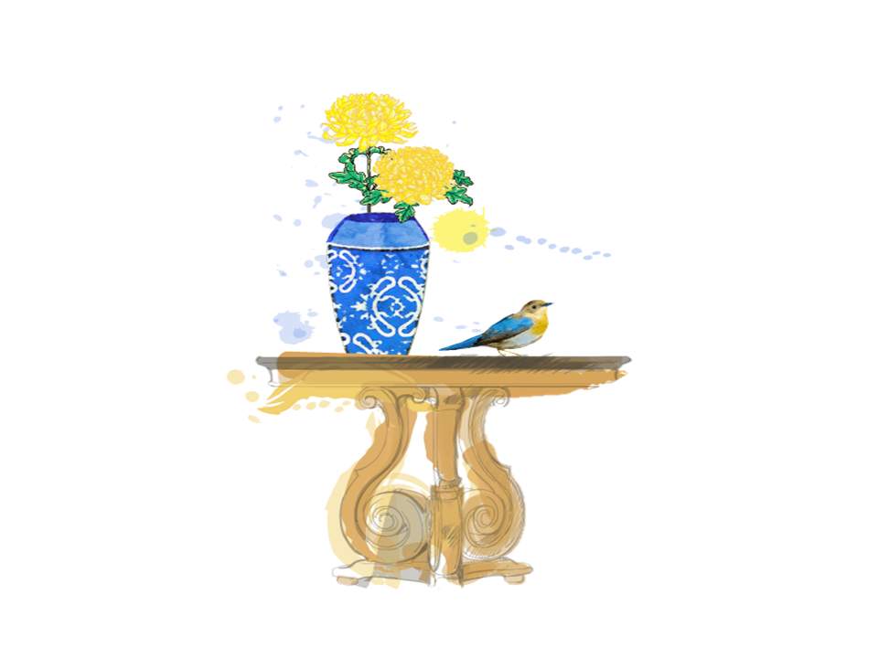 Bird on Table 2019 .png