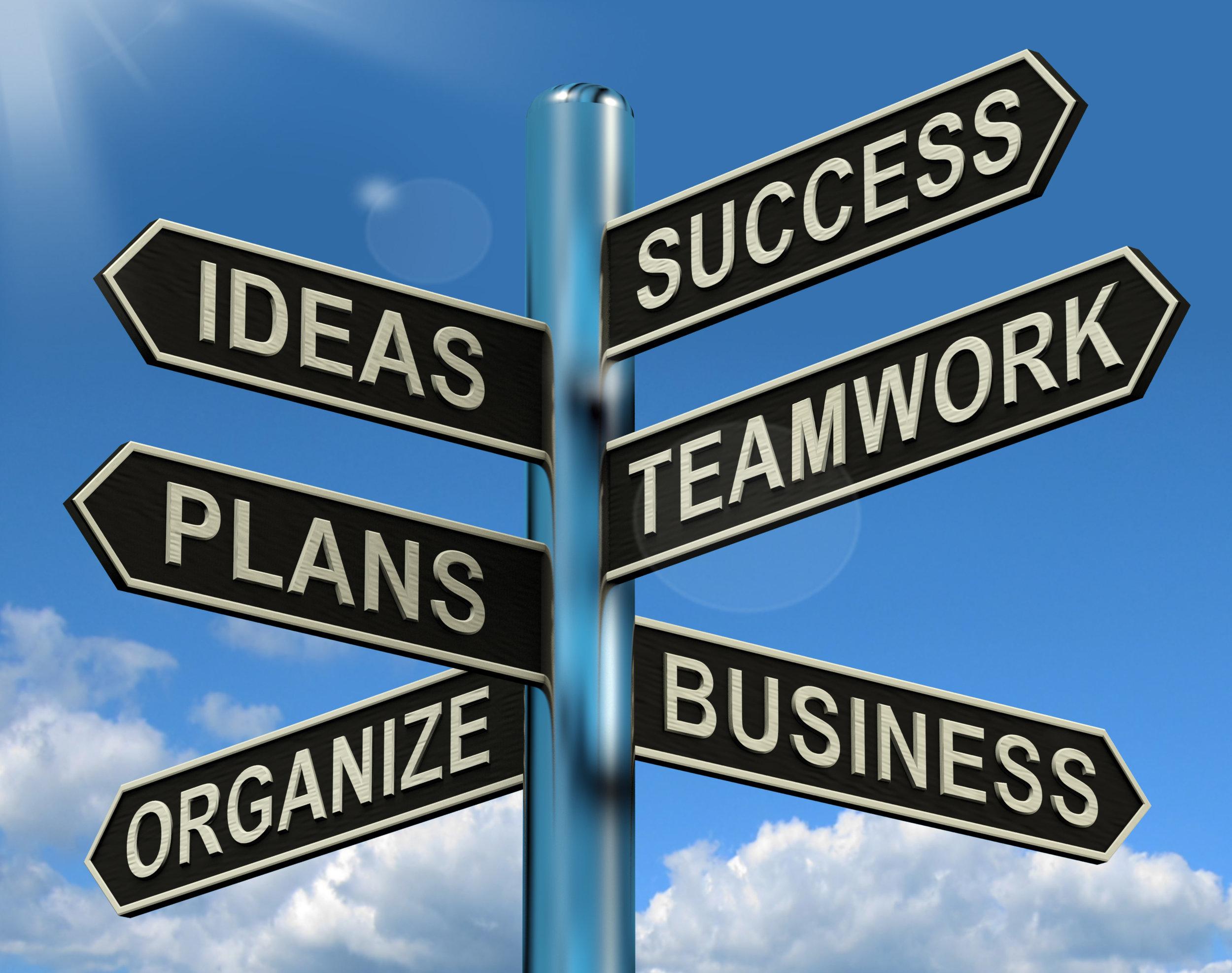 success-ideas-teamwork-plans-signpost.jpg
