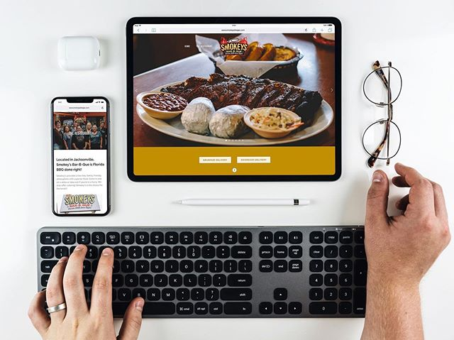 Hungry? Use Smokey's new website by JFCO to order BBQ from any device. Yum 😋