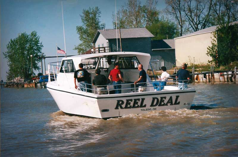 Lake Erie Reel Affair Charters (perch or walleye).