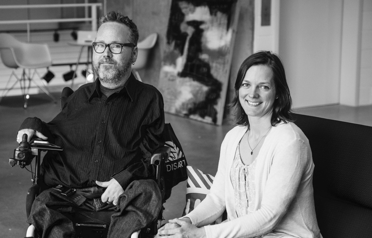 Christopher Smit, PhD & Jill Vyn, MSW - Co-Founders and Executive Directors of DisArt; Co-hosts of DIStopia Podcast
