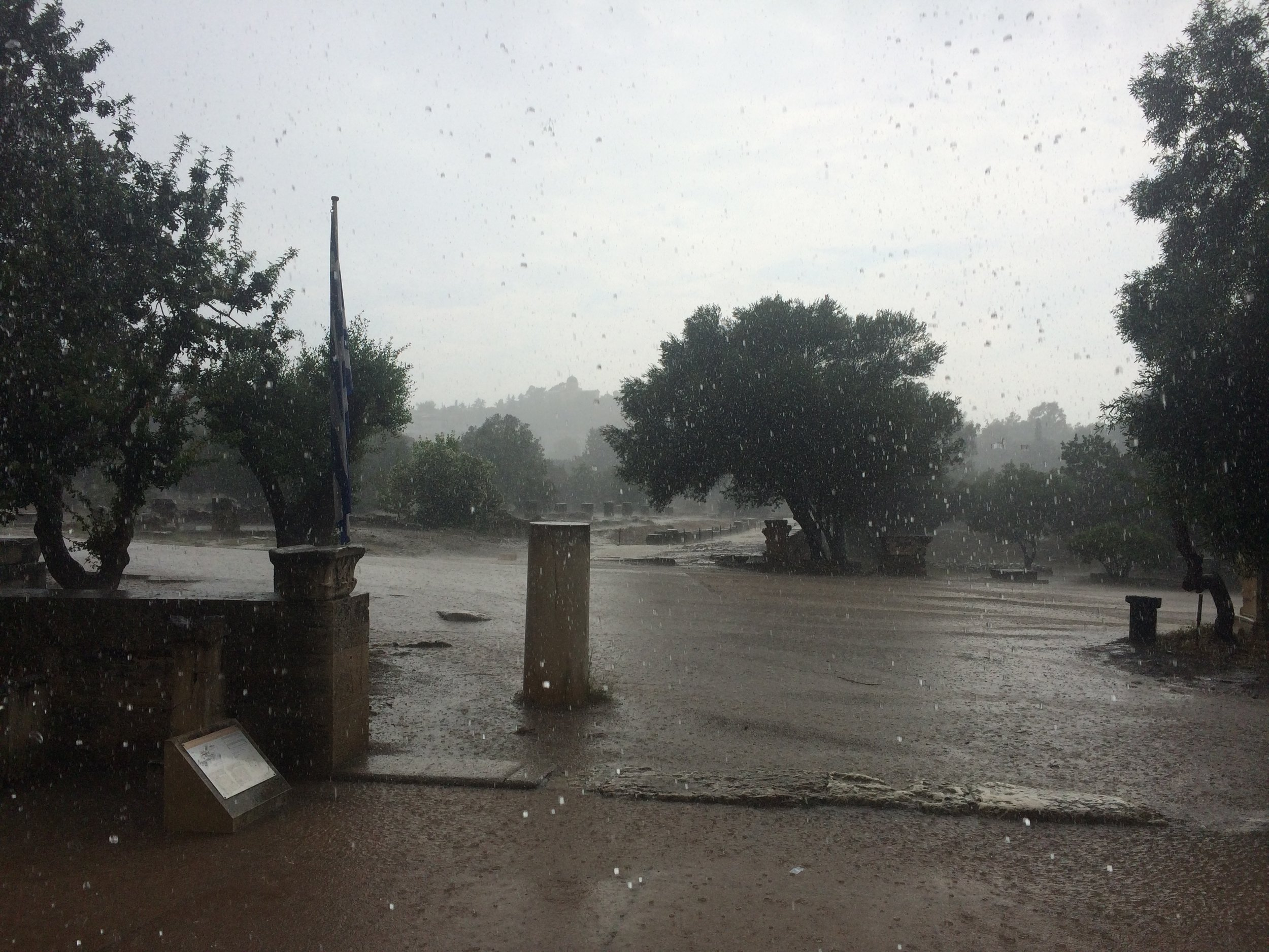 Downpour at the agora.JPG