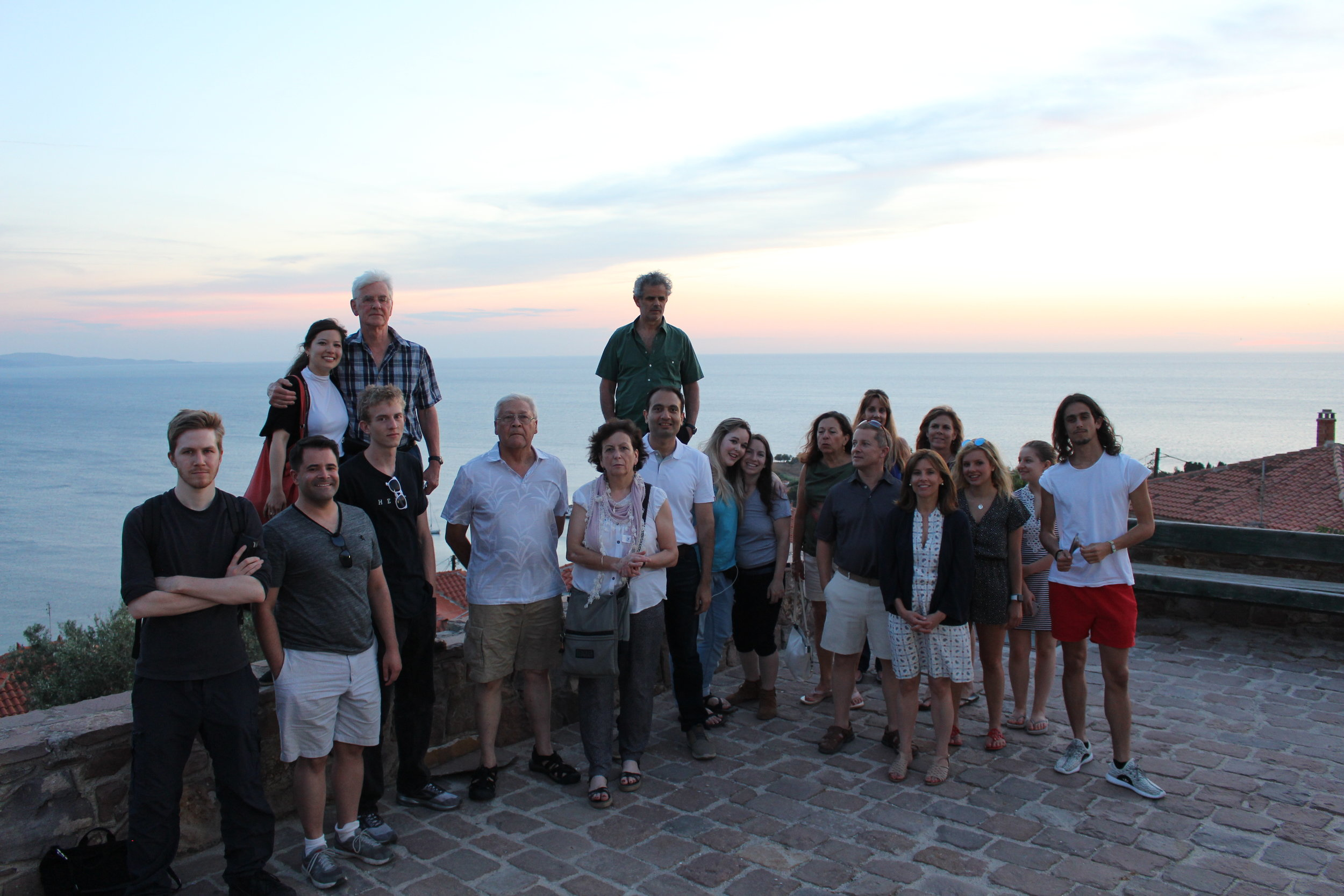 Travelers of The Great Connections Seminar Greece and Italy 2018