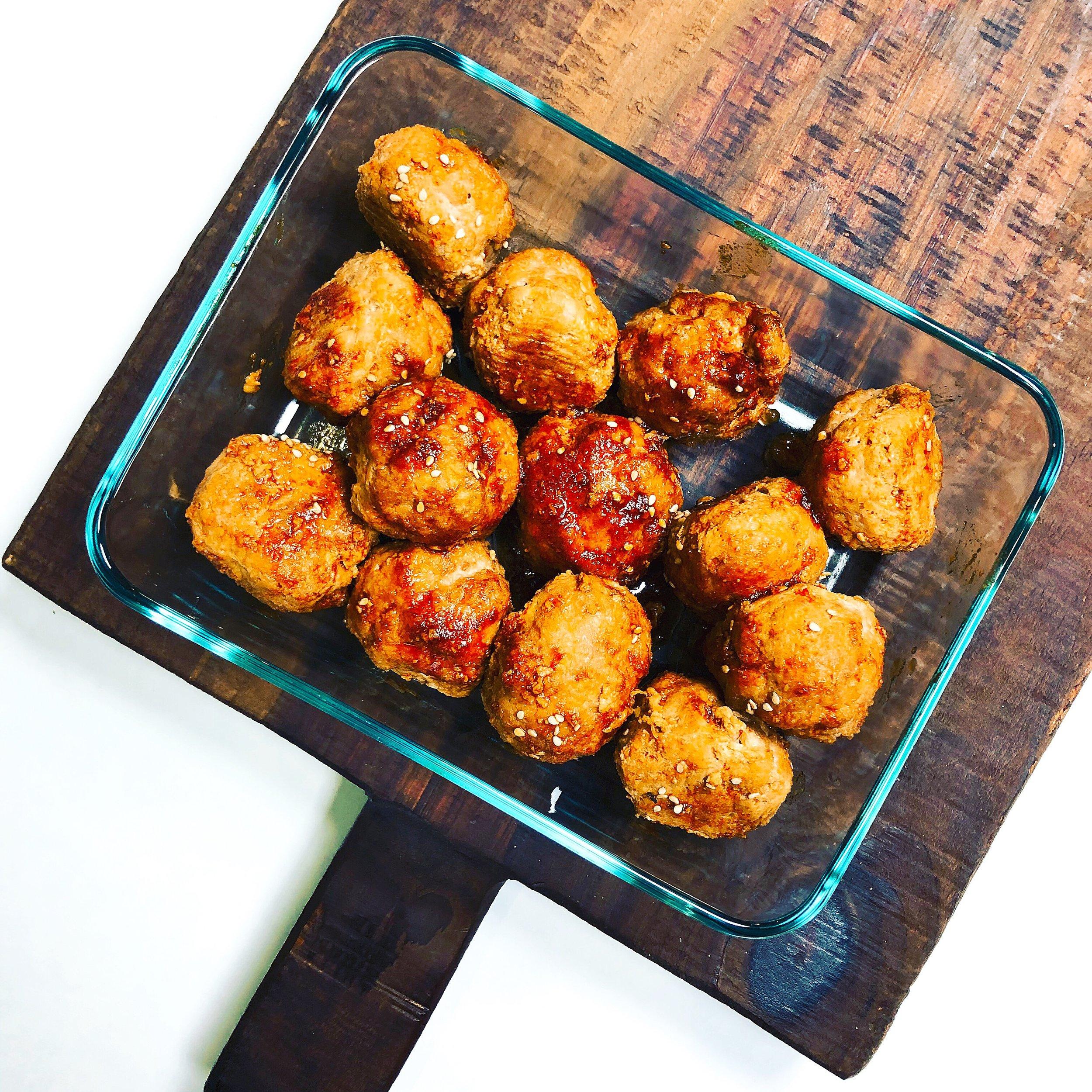 These meatballs reheat beautifully.