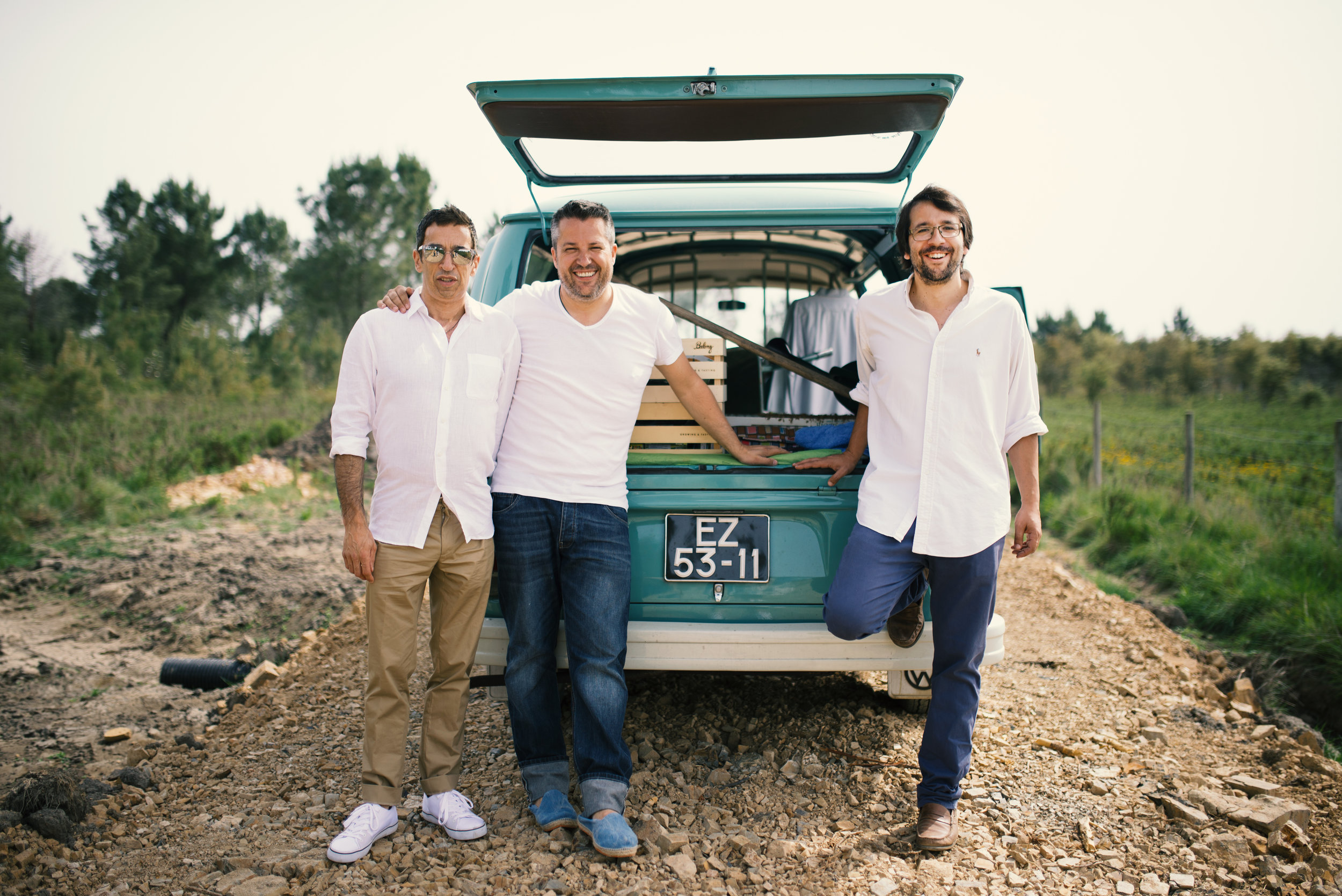 The Quinta's Co-Founders, Photo Courtesy of Quinta do Craveiral