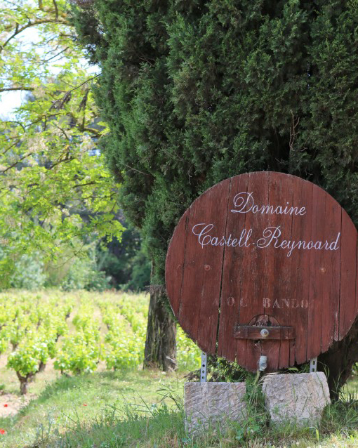 Photo Courtesy of Domaine Castell-Reynoard