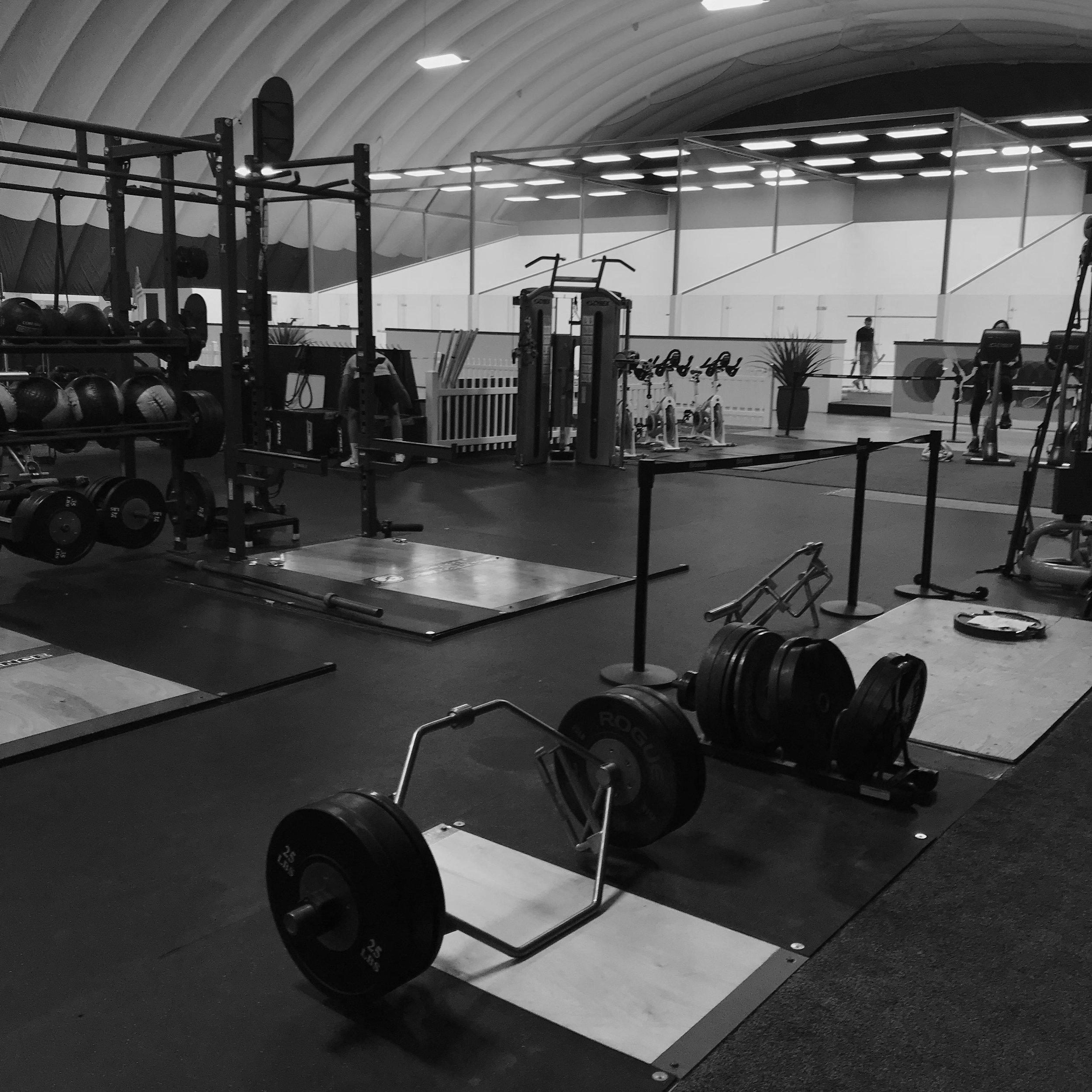 Fitness conditioning at INFINITUM Squash, Sudbury