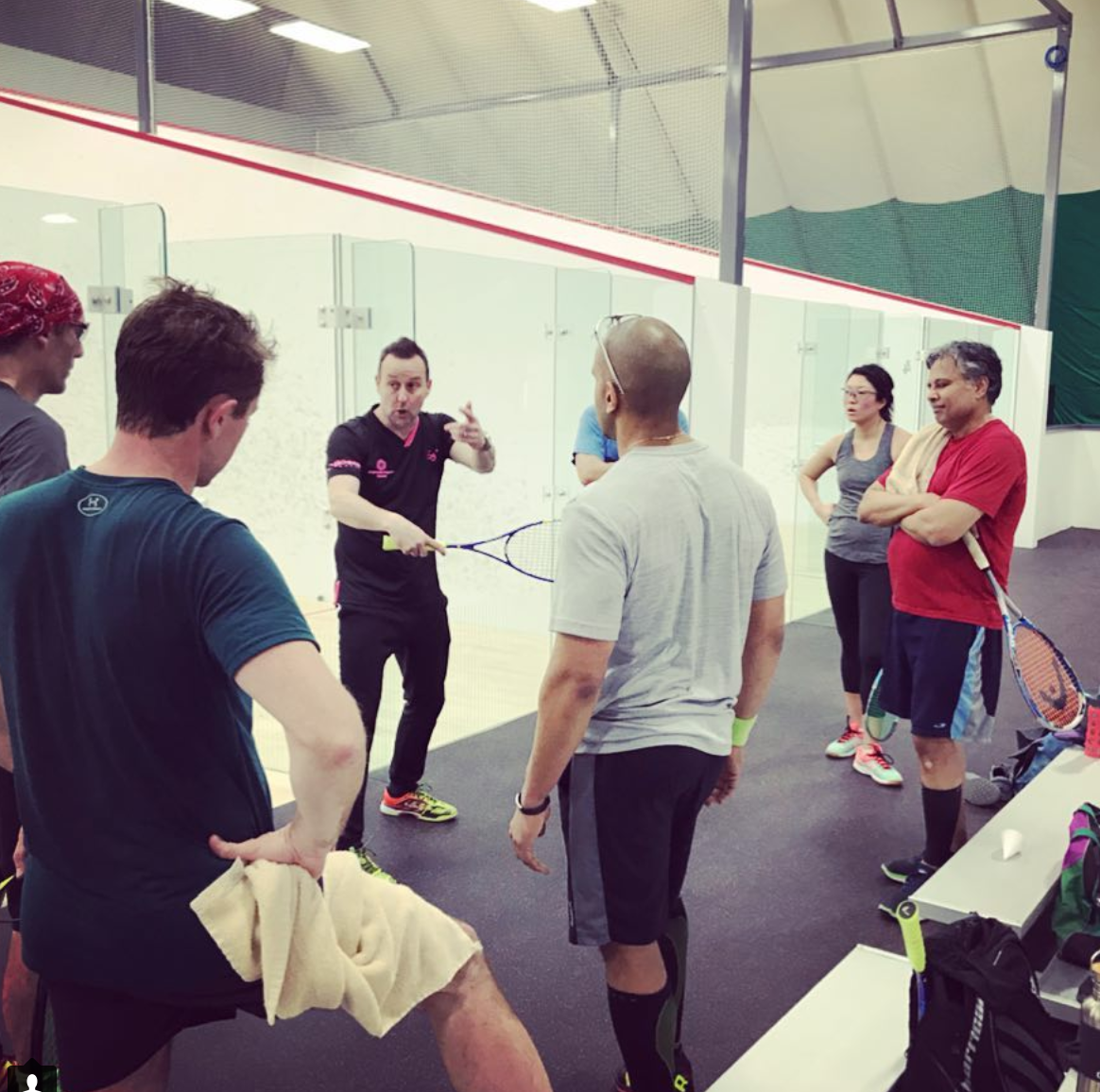 infinitum squash open house clinic