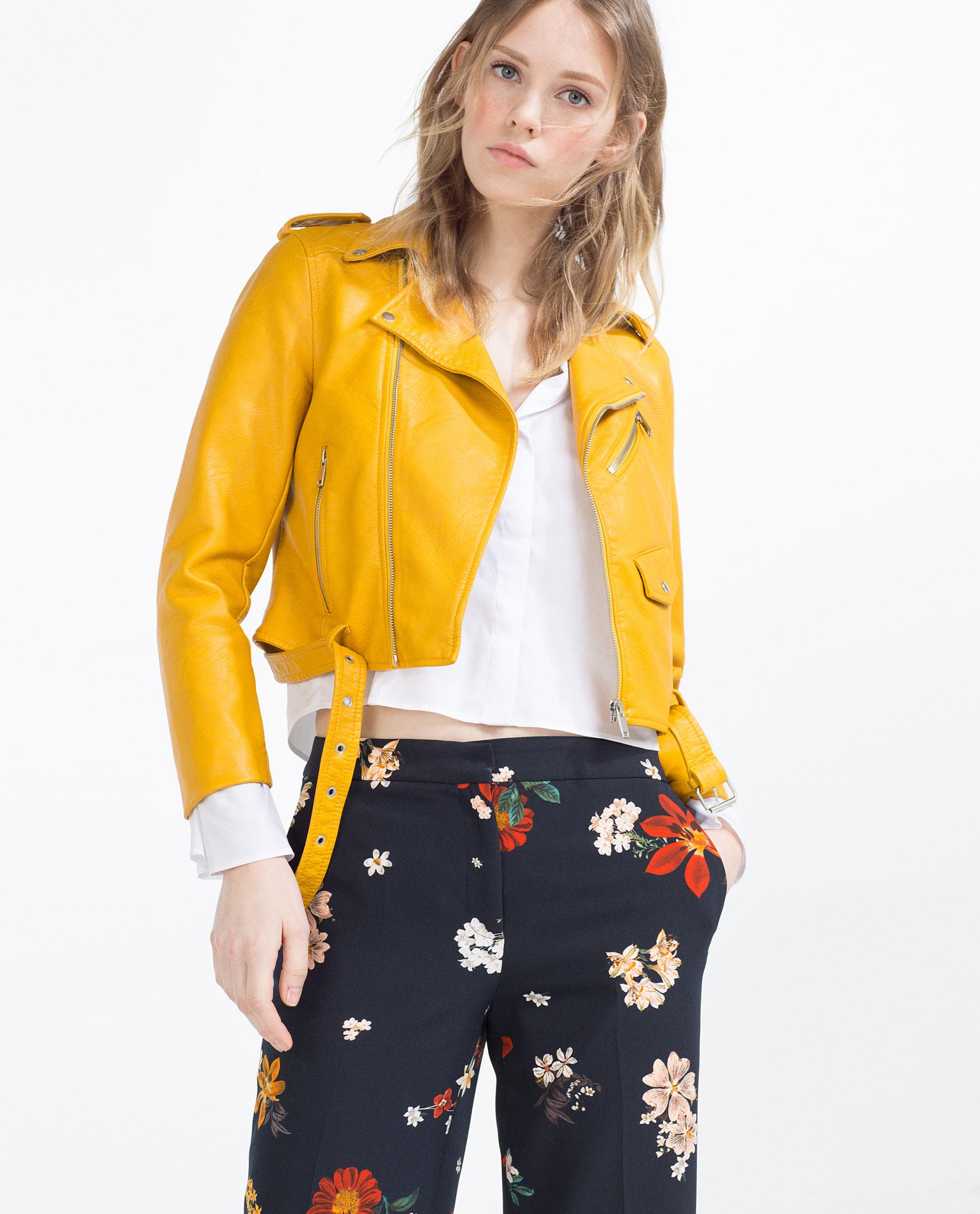 3-Angela-Simmonss-Instagram-Zara-Yellow-Faux-Leather-Jacket-.jpg