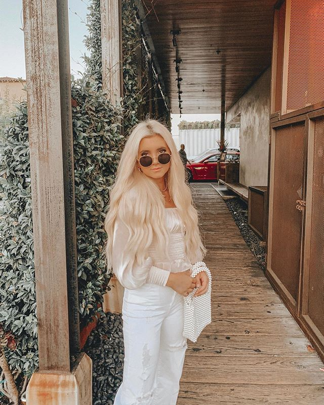 just wanted to let you guys know that I found a new favorite restaurant & it's called @kettnerexchange ✨ still dreaming of the food + rooftop views here @sdcmrestaurants #summersips # ad // wearing @revolve #revolveme . . . check out my stories to watch my experience here!