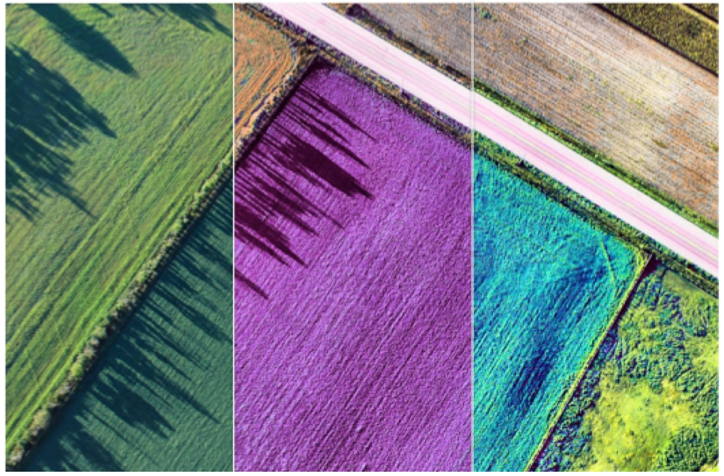 Multispectral Imagery  - Standing waterPlant countBiomassHealth of cropsand more