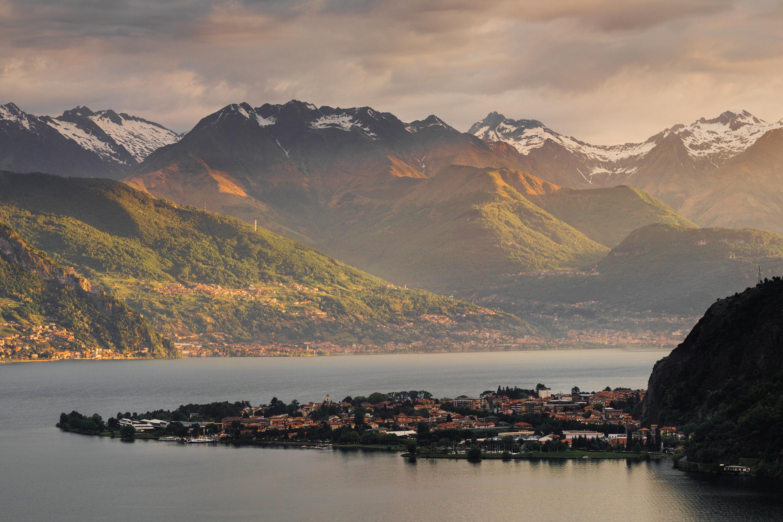 26 Lake Como Sunset.JPG