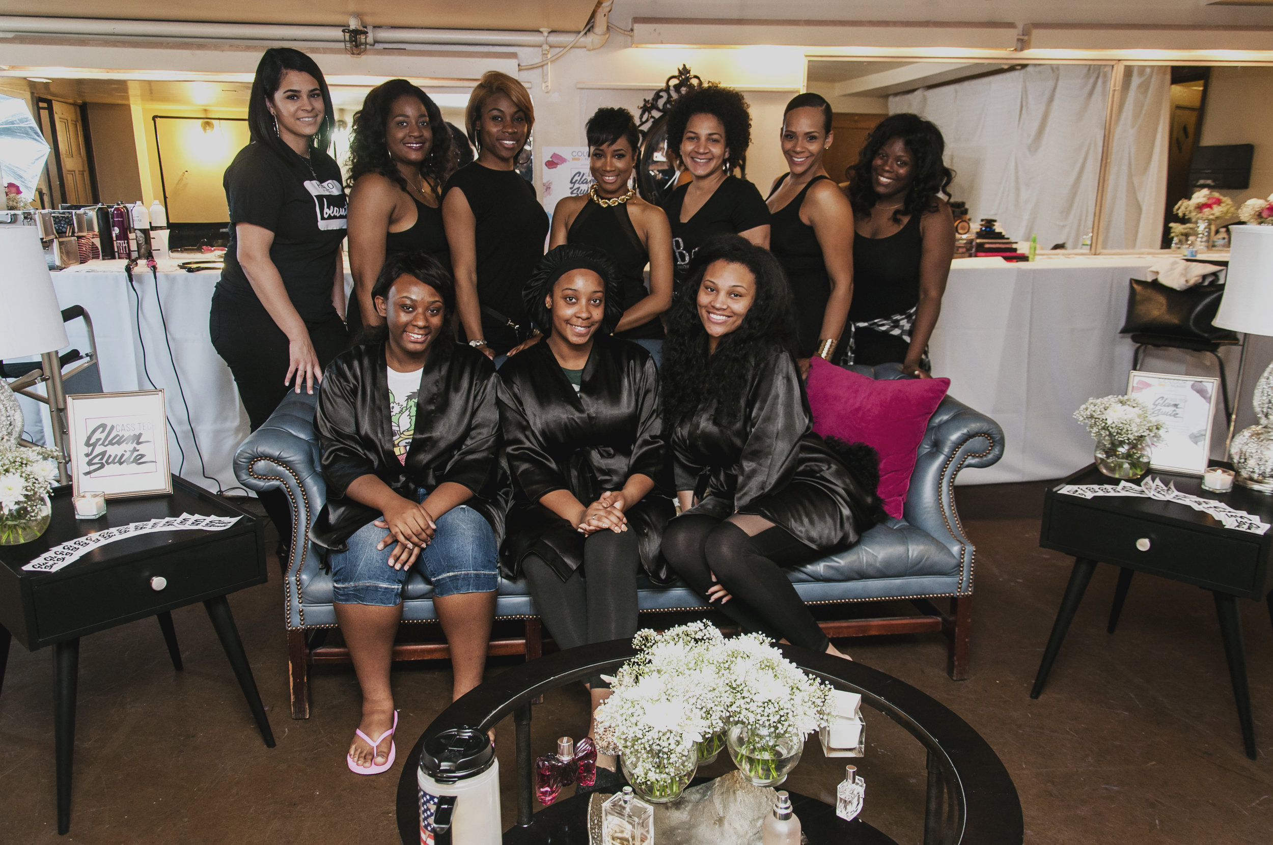 Class of 2016 - With a mission to provide impeccable beauty and fashion servicing for Cass Tech students from Cass Tech alumni, the first annual Cass Tech Glam Suite was a complete success!
