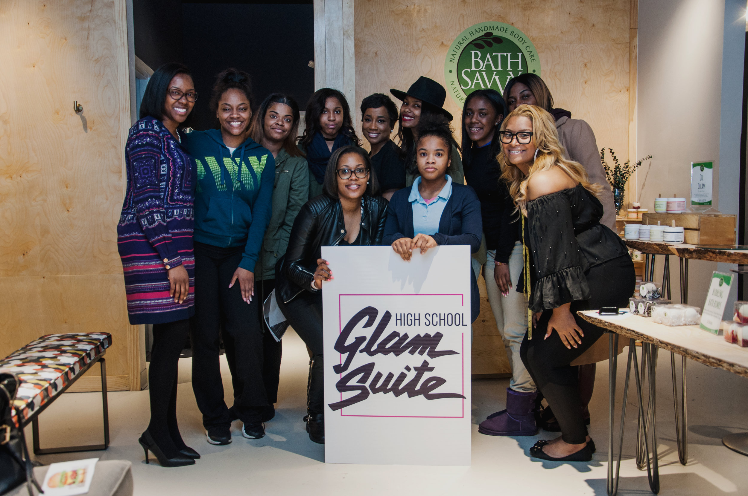 Cheers to the Class of 2017! - We kicked off the High School Glam Suite 2017 with a new workshop: True You with Melissa Butler of The Lip Bar.