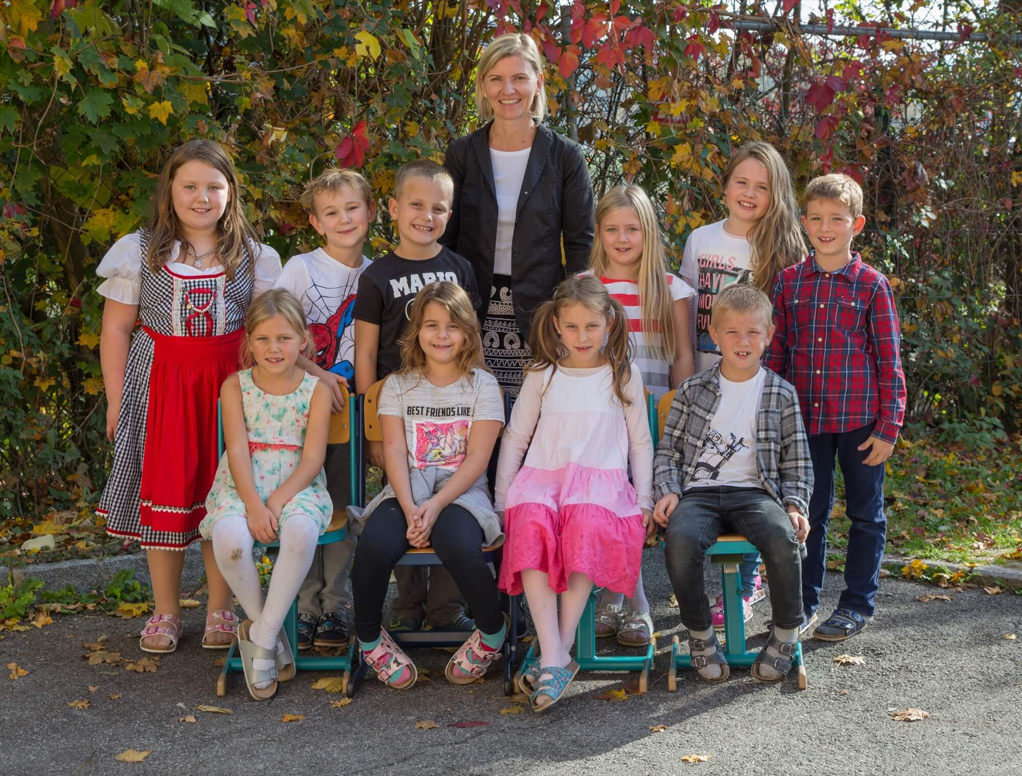 Klassenlehrerin Ingrid Grössl, BEd.