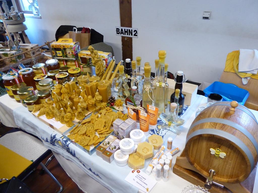 Bienen-Produkte - Honig, Bienenwachs-Kerzen, Propolis & Propolis-Kosmetika u.v.m.