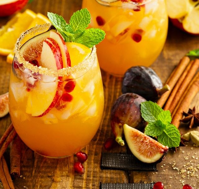 Marry the flavors of Fall with the refreshment of a cocktail by making this Apple Cider Autumn Sangria! 🍎🍹🍎 Ingredients: 2 Kamburupitiya Ceylon cinnamon  sticks, plus more for serving 2 medium apples, thinly sliced (We prefer Honeycrisp) 1 medium pear, thinly sliced 1 medium orange, thinly sliced ⅔ cup pomegranate seeds 1 (750 ml) bottle white wine (We suggest a Pinot Grigio) 2 cups apple cider ½ cup brandy ¼ cup orange juice 2 Tablespoons lemon juice Club soda, for serving Directions: Place the Kamburupitiya Ceylon cinnamon sticks and fruit into a large pitcher. Add wine, apple cider, brandy, orange juice, and lemon juice. Allow to sit in the refrigerator for 3 – 24 hours (6-8 hours is best!). Pour the sangria and fruit into glasses. Add a splash of club soda. Garnish with a cinnamon stick.