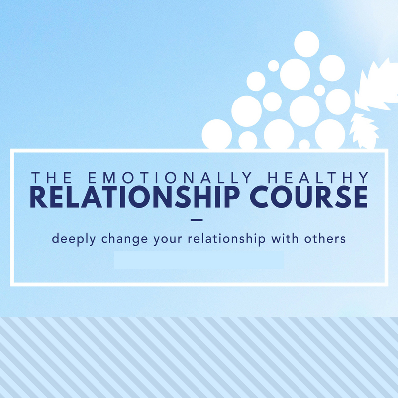 Emotionally Healthy Relationships Course   In our EHR course we acquire 8 skills that deeply change our relationship with others.We develop new ways, new tools, new language to end relational roadblocks. We will have more information regarding our next class this year.