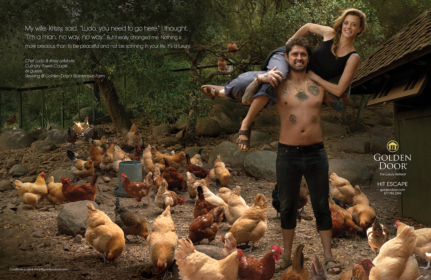 Culinary Power Couple, Chef Ludo and Krissy Lefebvre