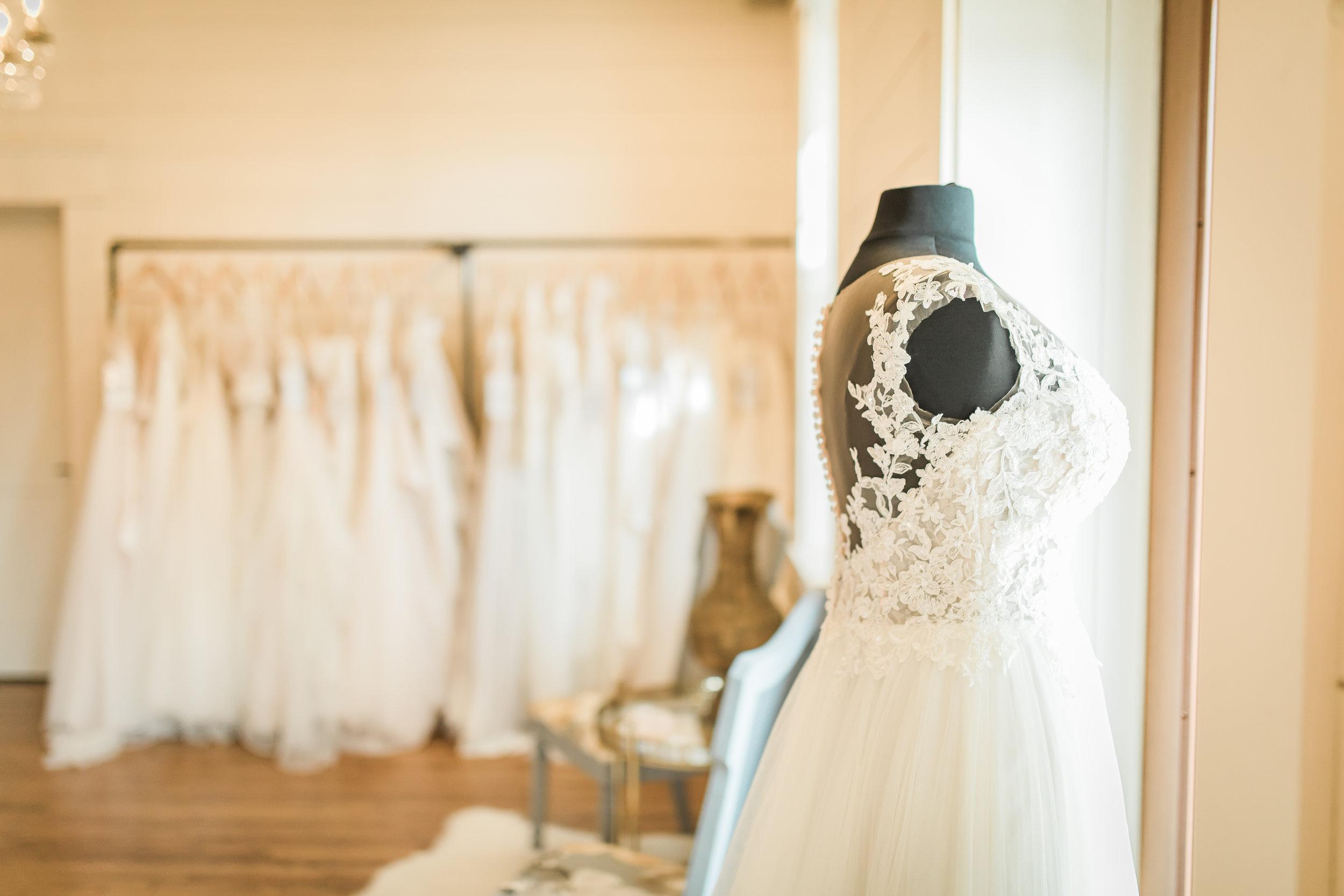 low back wedding dress — Real Cleo Bridal Weddings — Cleo Bridal
