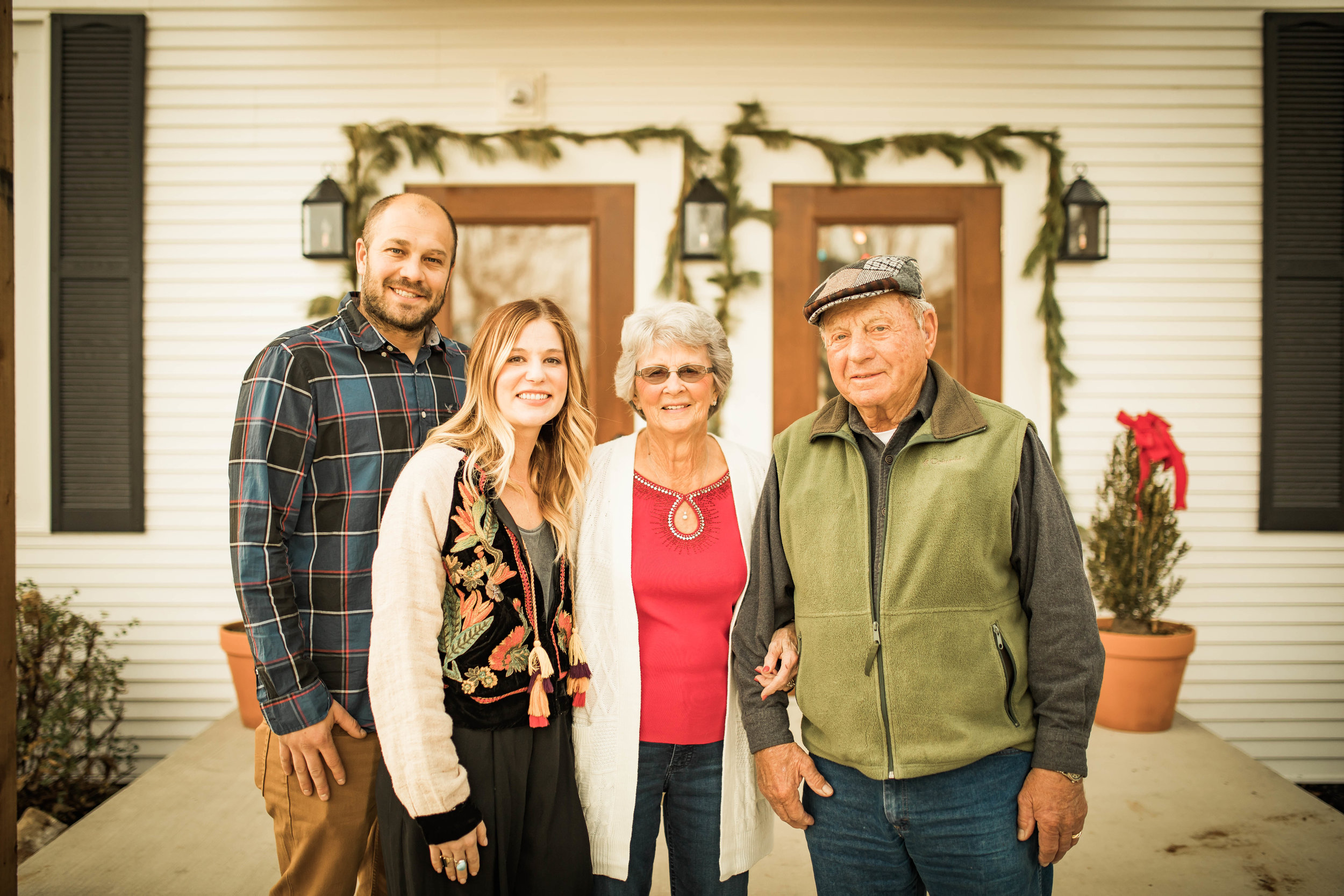 Owners with Krekel descendants happy to see the home renovated and restored.